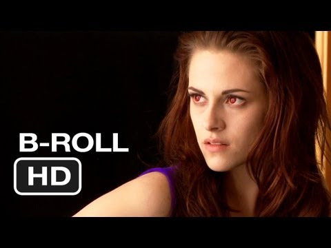 The Twilight Saga: Breaking Dawn Part 2 - B-Roll (2012) Kristen Stewart Movie HD