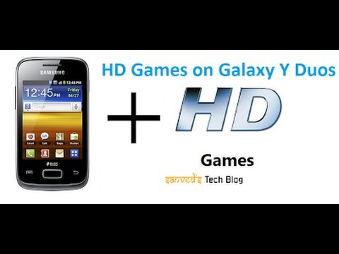 All HD Games for Galaxy Y Duos S6102 игры на галакси  6102