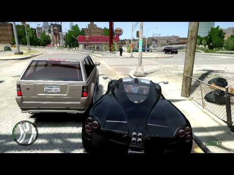 GTA IV - iCEnhancer 2.0 + 23 Added Super Cars как навести коды   в gta iv super cars