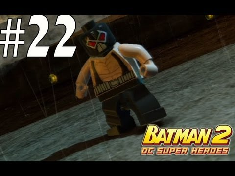 Lego Batman 2 - Unlocking Bane, Huntress, The Joker, Hawkman and friends видео лего бэтмен 2