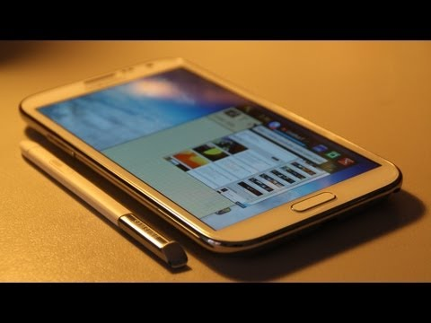 Why The Samsung Galaxy Note 2 Is Better Than Your Phone *If you don't have one* [3D UI] samsung one3 видео
