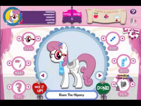 Let's Play - My Little Pony Friendship is Magic Adventures in Ponyville the Game (Part 1) adventure in ponyville