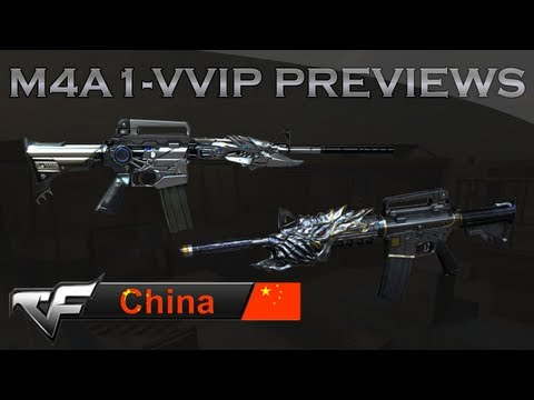 CrossFire CN | M4A1-Thor & M4A1-Black Dragon Previews м4а1 ТОР