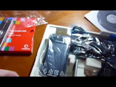 Samsung GT-S5560 Unboxing самсунг gt s5560