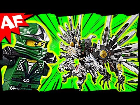 Lego Ninjago EPIC DRAGON Battle & Green Ninja 9450 Animated Building Review