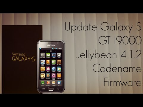 Update Galaxy S GT I9000 with Jellybean 4.1.2 Codename Firmware андроид jelly bean на i9000