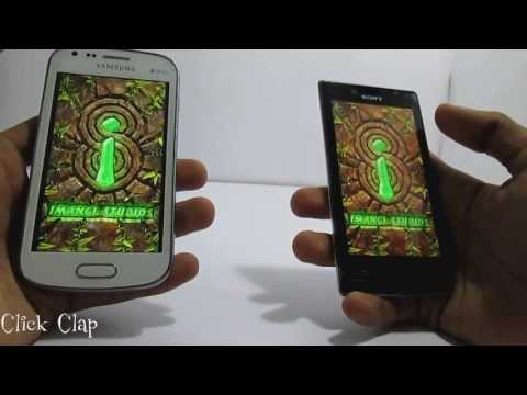 Sony XPERIA J vs Samsung Galaxy S Duos Comparison & Review сравнение galaxy s duos